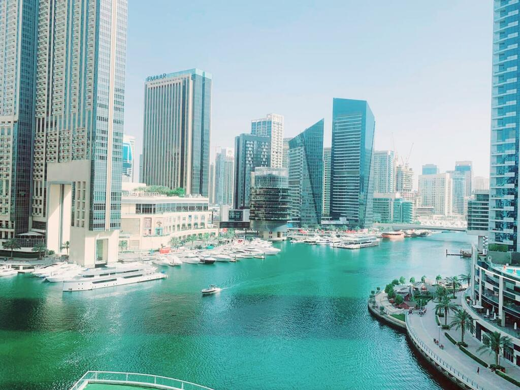 Luxury Studio Apartment With Full Dubai Marina Views - Tourism UAE