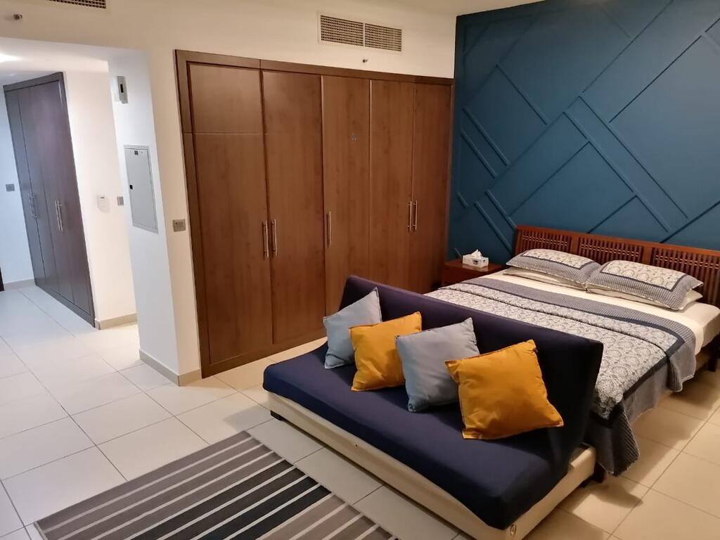 Upgraded studio Next to Metro with Balcony - Tourism UAE